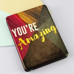 House of Disaster Ta-Daa 'You're Amazing' Compact Mirror