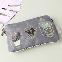 House of Disaster Urban Garden Zip Purse