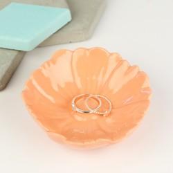Orange Flower Trinket Dish