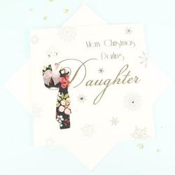 Five Dollar Shake 'Darling Daughter' Christmas Card