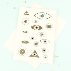 Five Dollar Shake Sparkling Eyes Card