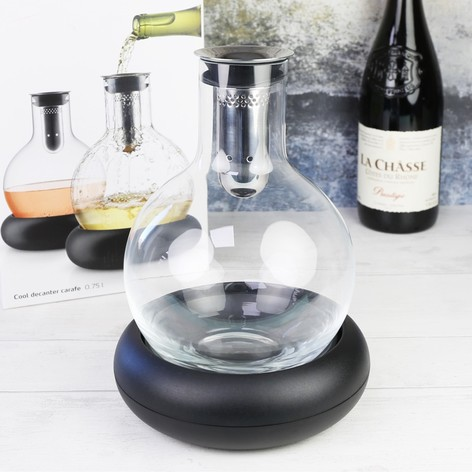 Cooling Glass Decanter Carafe