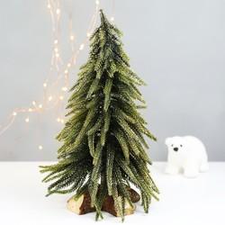 Glitter Fir Tree Christmas Decoration