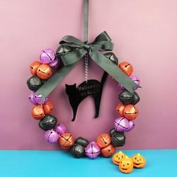 Personalised House Number Halloween Wreath
