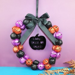 Personalised Name Halloween Wreath