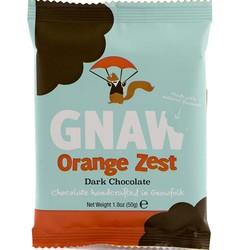 Gnaw Orange Zest Mini Dark Chocolate Bar