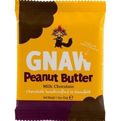 Gnaw Peanut Butter Mini Milk Chocolate Bar