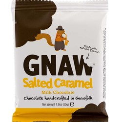 Gnaw Salted Caramel Mini Milk Chocolate Bar