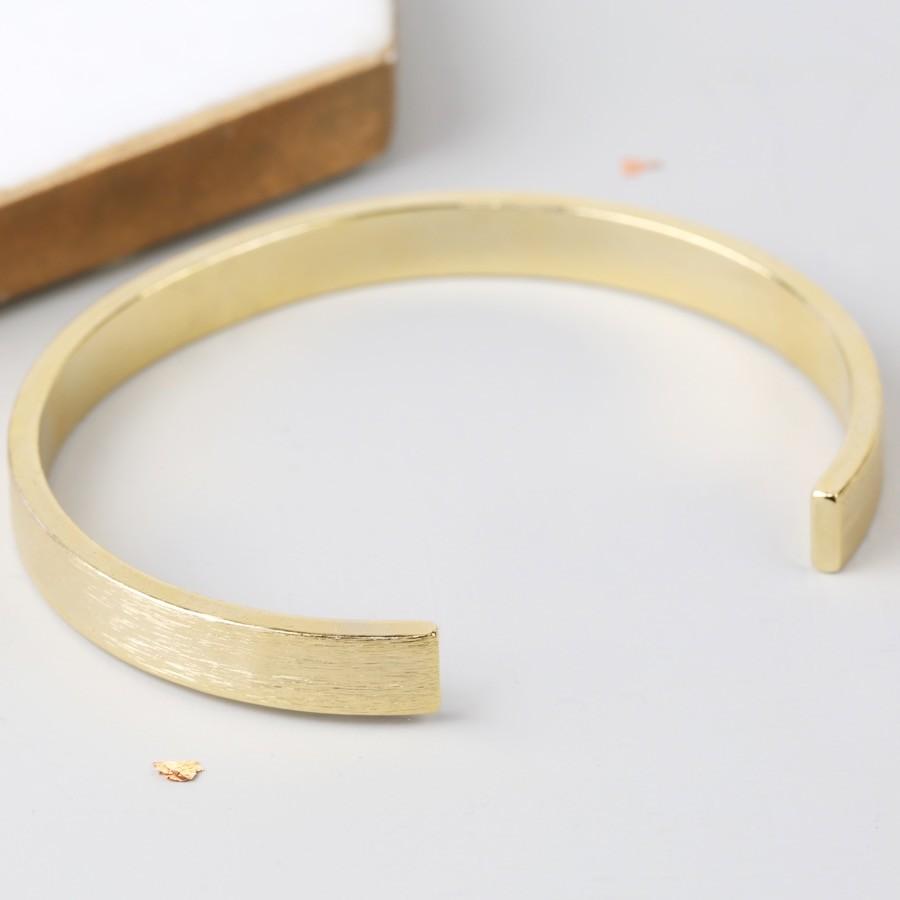 Open Gold colour Cuff