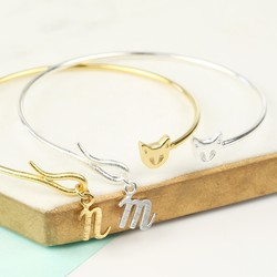 Personalised Cat Bangle