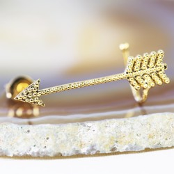 Gold Arrow Ear Cuff
