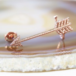 Rose Gold Arrow Ear Cuff