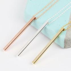 Personalised Shiny Bar Necklace