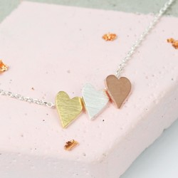 Three Little Hearts Necklace