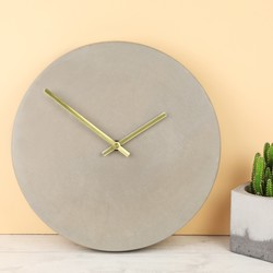 House Doctor Concrete Wall Clock