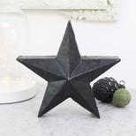 Black Metal Star Ornament