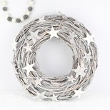 Sparkly Natural Twig Star Wreath