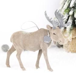 Personalised Hanging Moose Decoration