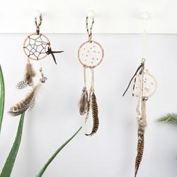 Boho Feather Dreamcatcher