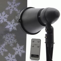 Indoor and Outdoor Snowflake Projector