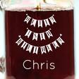 Lisa Angel Machine Engraved Personalised 'Happy 18th Birthday' Mason Jar
