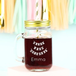 Personalised 'Happy 30th Birthday' Mason Jar