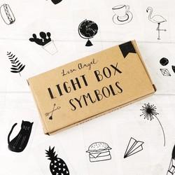 Hand Drawn Symbols Pack for LED Light Boxes