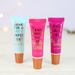 Mad Beauty Set of 3 Disney Quotes Lip Gloss