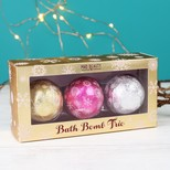 Mad Beauty Set of 3 Festive Bath Bombs