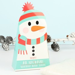 Mad Beauty Snowman Vanilla Bath Salts