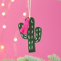 Meri Meri Acrylic Cactus Tree Decoration