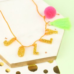 Meri Meri Acrylic Jolly Necklace