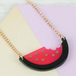 Meri Meri Acrylic Watermelon Necklace
