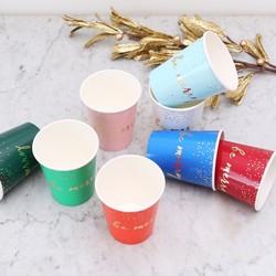 Meri Meri 'Be Merry' Christmas Paper Cups