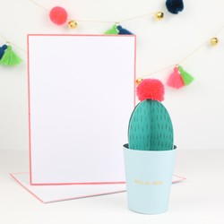 Meri Meri 'Hola Mi Amigo' Pop-Up Cactus Card