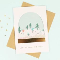 Meri Meri 'Let's Be Jolly' Christmas Card