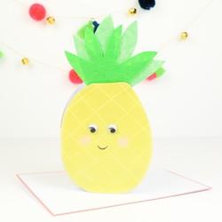 Meri Meri Pineapple Card