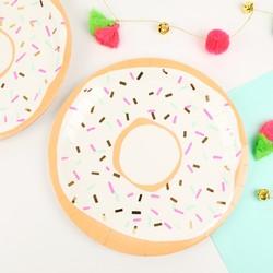 Meri Meri Set of 8 Doughnut Paper Plates