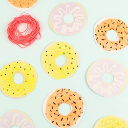 Meri Meri Set of 12 Doughnut Gift Tags