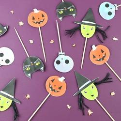 Meri Meri Set of 12 Halloween Party Picks