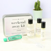 Apothecary Department 'Weekend Away' Kit