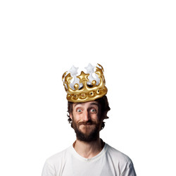 'King For The Day' Inflatable Crown