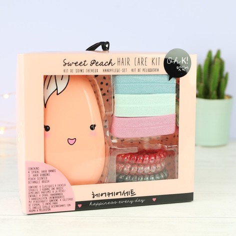 Oh K! Sweet Peach Hair Care Set