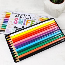 'Sketch and Sniff' Scented Pencils