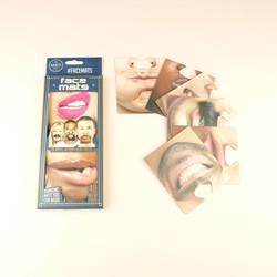 Gentlemen's Club Face Mats Coasters