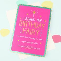 Happy Jackson 'Birthday Fairy' Card