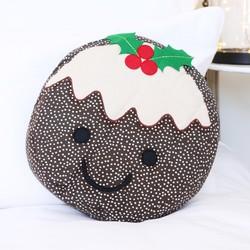 Sass & Belle Christmas Pudding Cushion