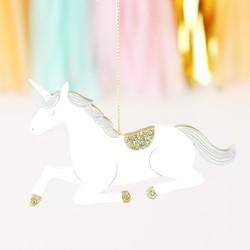 Sass & Belle Glittery Unicorn Hanging Decoration
