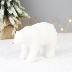 Sass & Belle White Porcelain Polar Bear Decoration
