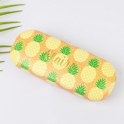 Personalised Sass & Belle Pineapple Glasses Case